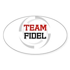 Fidel Oval Decal