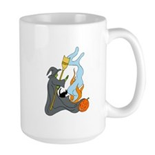 Witch conjuring spell Mugs