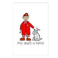 My Dad's a Hero Postcards (Package of 8)