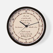 Unique Verse Wall Clock