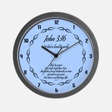 Cute Ichthys Wall Clock