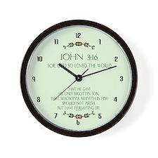 Cool 316 Wall Clock