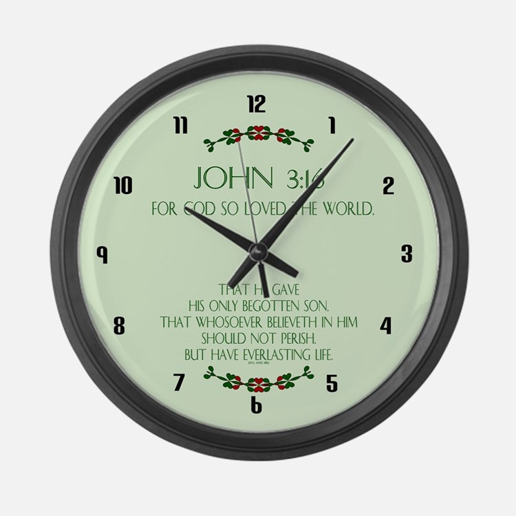 Cute Religion Large Wall Clock