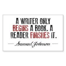Samuel Johnson Quote Decal
