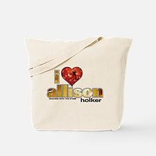 I Heart Allison Holker Tote Bag
