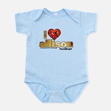 I Heart Allison Holker Infant Bodysuit