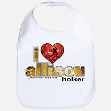 I Heart Allison Holker Bib