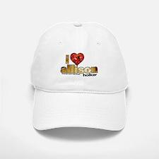I Heart Allison Holker Baseball Baseball Cap