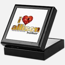 I Heart Allison Holker Keepsake Box
