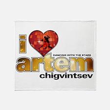 I Heart Artem Chigvintsev Stadium Blanket