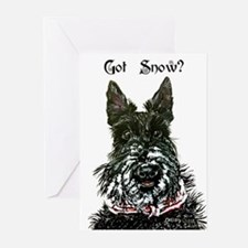 Got Snow Scottie 20 Greeting Cards