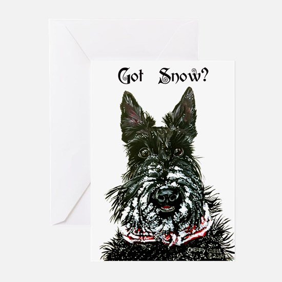 Got Snow Scottie 20 Greeting Cards