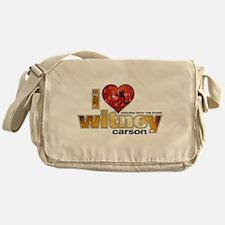 I Heart Witney Carson Canvas Messenger Bag