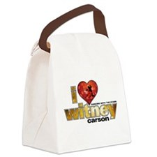 I Heart Witney Carson Canvas Lunch Bag