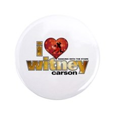 """I Heart Witney Carson 3.5"""" Button"""