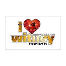 I Heart Witney Carson 22x14 Wall Peel