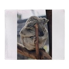 Cuddly Koala Throw Blanket
