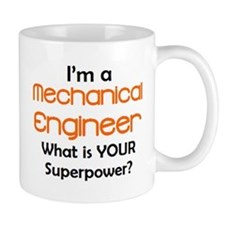 mechanical engineer Small Mugs