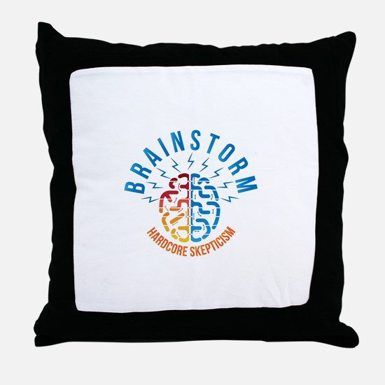 Funny Podcast Throw Pillow