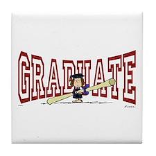 Graduate Tile Coaster