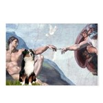 Creation - Australian Shep2 Postcards (Package of