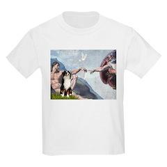 Creation - Australian Shep2 Kids Light T-Shirt