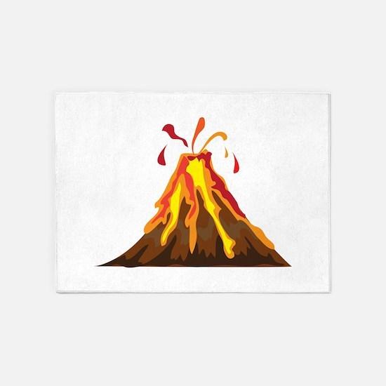 Volcano 5'x7'Area Rug