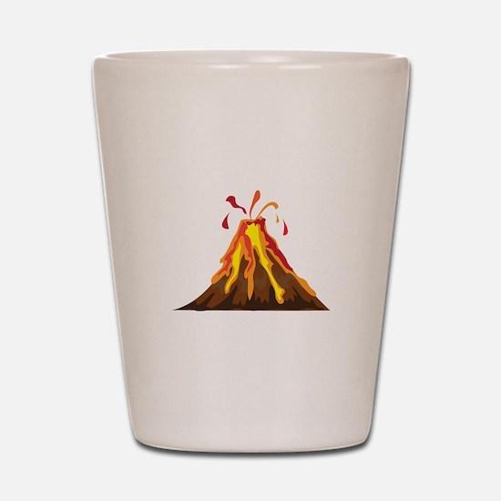 Volcano Shot Glass