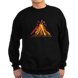 Volcano yellowstone Sweatshirt (dark)