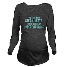 Bridesmaids Steam Long Sleeve Maternity T-Shirt
