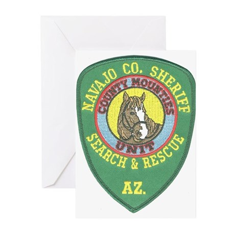 Navajo County Search & Rescue Greeting Cards (Pack