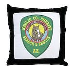 Navajo County Search & Rescue Throw Pillow