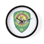 Navajo County Search & Rescue Wall Clock