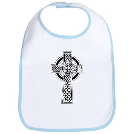 Celtic Knotwork Cross Bib