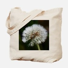 Cool Dandelion white black Tote Bag