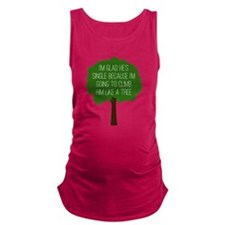 Bridesmaids Tree Maternity Tank Top