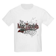 MacTavish Tartan Grunge T-Shirt