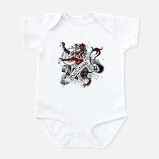 MacTavish Tartan Lion Infant Bodysuit