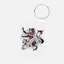 MacTavish Tartan Lion Keychains