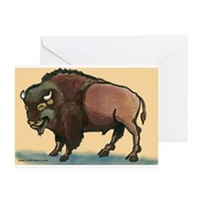Cool Buffalo new york Greeting Cards (Pk of 10)
