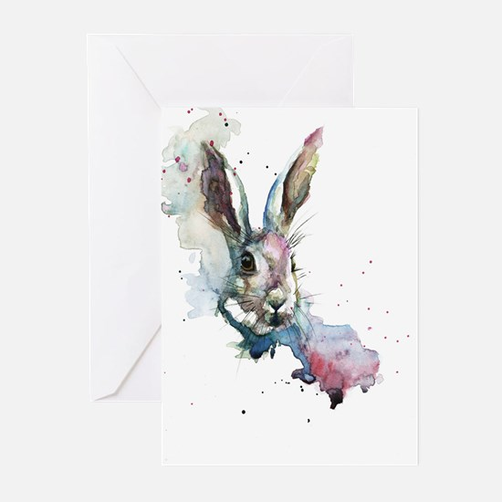 March Hare Greeting Cards