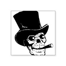 Black Skull Sticker