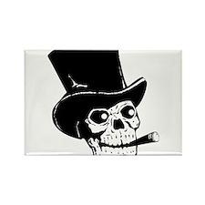 Black Skull Magnets