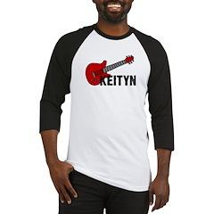 Guitar - Keityn Baseball Jersey