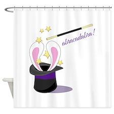 Abracadabra Hat Shower Curtain