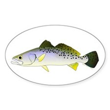 Spotted Seatrout 2 Decal