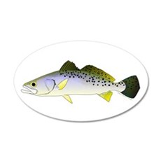 Spotted Seatrout 2 Wall Decal