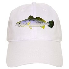 Spotted Seatrout 2c Baseball Baseball Cap