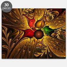 Festive Fractal Flower Puzzle