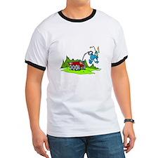 Rover picking up Martian T-Shirt
